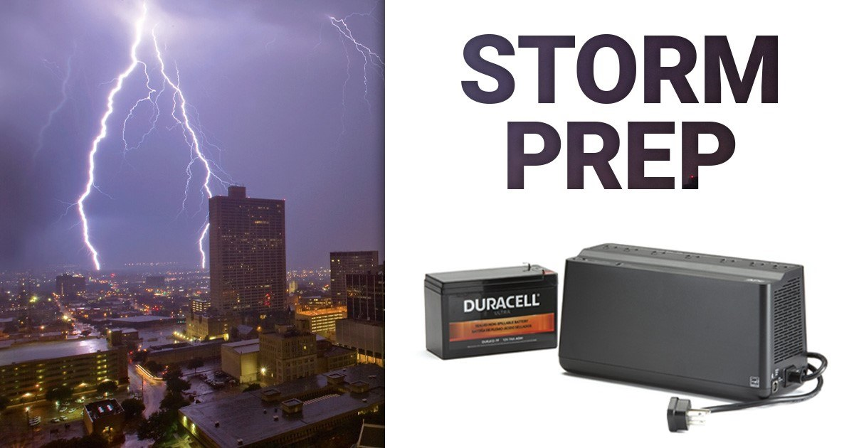 Prepare your generators & surge protectors